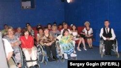 Жители Ульяновска в первом кинозале для людей с ограниченными возможностями