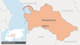 Türkmenistanyň kartasy