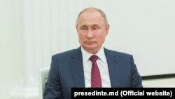 Vladimir Putin la întâlnirea cu Igor Dodon