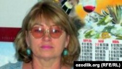 Ҳуқуқ фаоли Татьяна Давлатова.