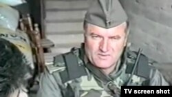 Ratko Mladic, pictured in Croatia in 1991