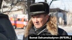 Министр транспорта и дорог Жамшитбек Калилов.