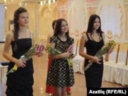 Мәскәү бәйгесенә узган кызлар