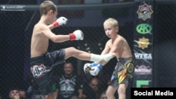 Сын Рамзана Кадырова на ринге. Архивное фото