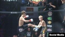 Детские бои в рамках турнира в Грозном