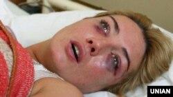 Наталія Розинська у лікарні
