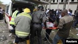 Архива, бомбашки напад на седиштето на ОН во Нигерија, август 2011