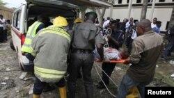 Архивска фотографија: Бомбашки напад во Абуџа, главен град на Нигерија на 26 август 2011 година.