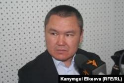 Депутат парламента Кыргызстана Бакытбек Джетигенов.