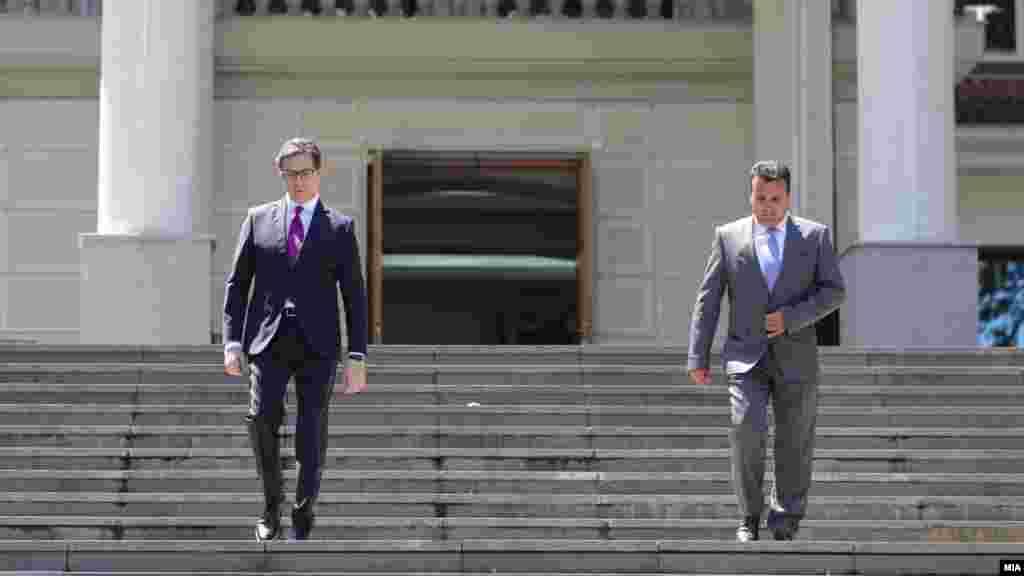 МАКЕДОНИЈА - Македонскиот претседател, Стево Пендаровски, изјави дека очекува новиот владин состав да има чисто антикорупциско досие.