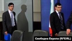 """Трайчо Трайков и Симеон Дянков бяха министри на икономиката и финансите в първия кабинет """"Борисов"""""""
