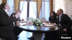 Aktyorla prezidentin görüşü