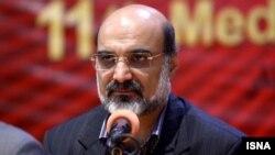 Washington imposed sanctions in 2018 on Abdulali Ali-Asgari, the director of Iran's state broadcaster, IRIB. (file photo)