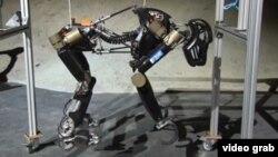 Almaniya mühəndislərinin düzəltdikləri robot