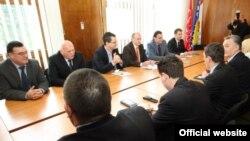 Razgovori delegacija SDP BiH i HDZ 1990 u Sarajevu, decembar 2010