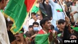 Собири за одбележување на Денот на независноста, Џалалабад, 19 август.