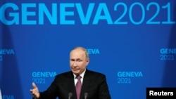 Ruski predsjednik Vladimir Putin u Ženevi, 16. juna 2021.
