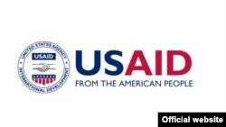 USAID логотипі (Көрнекі сурет).