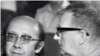 Ghenadi Rojdestvenski și Dmitri Șostakovici.