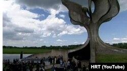 Sa komemoracije u Jasenovcu