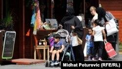 Strani državljani u Sarajevu, august 2015.