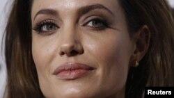 سفيرة النوايا الحسنة الممثلة الأميركية انجلينا جولي