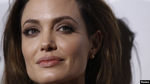 "Angelina Jolie at the premiere of ""In the Land of Blood and Honey"" in Los Angeles in December"