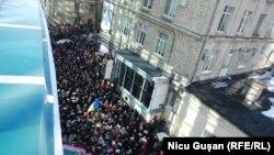 La manifestația de solidaritate, duminică la Chișinău