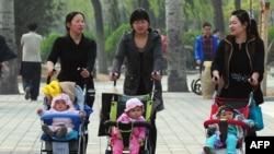 Kineskinje sa djecom