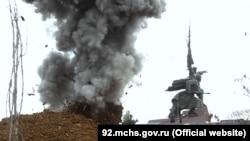 Взрыв авиабомбы в центре Севастополя, 27 декабря 2019 год