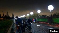 На месцы Бярлінскага муру. 7 лістапада 2014