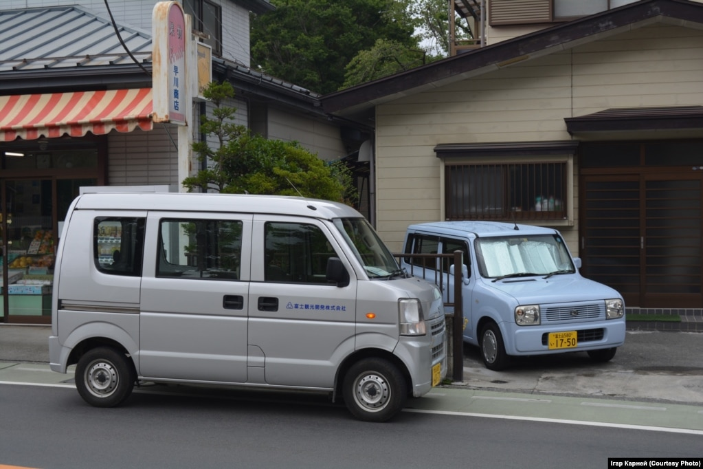 Типичные участники дорожного движения Японии