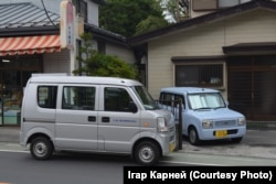 Тыповыя ўдзельнікі дарожнага руху Японіі