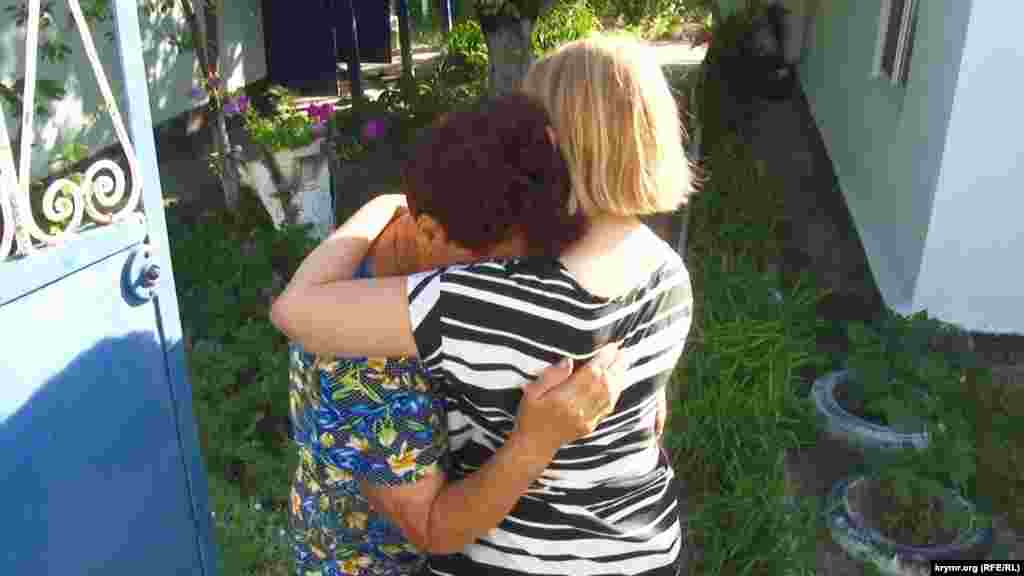 Мами політв'язнів Олега Сенцова та Олександра Кольченка вперше зустрілися