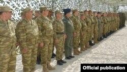 Военнослужащие азербайджанской армии (архив)