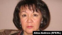 Правозащитник Алима Абдирова.
