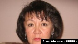 Alima Abdirova is a member of the independent Kazakh Bureau for Human Rights.