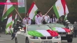 В Таджикистане отметили День национального флага.