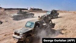 نیروهای دولتی سوریه (عکس از آرشیو)