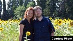 Сергей Кондрашов с женой