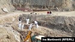 Iskopavanja iz masovne grobnice Kiževak prekinuta su u decembru 2020.