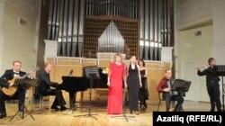 Концертта катнашучы иҗат төркеме