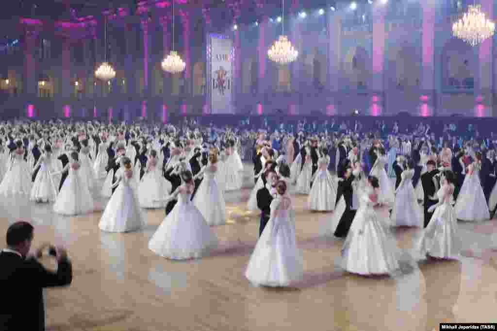 Along with talented young athletes and academics selected as debutantes, the sons and daughters of Russia's Kremlin-connected elite have previously been picked for the exclusive event.