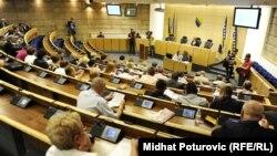 Jedna od sjednica Parlamenta Federacije BiH
