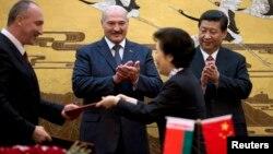 Аляксандар Лукашэнка і Сі Цзіньпін