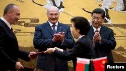 Олександр Лукашенко і Сі Цзіньпін, архівне фото