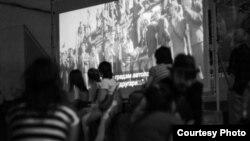 Патувачко кино на Македокс во Малешевијата.