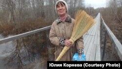 Жительница Усть-Чаи Ольга Макарова