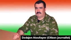 Renegade Tajik Colonel Mahmud Khudoyberdiev sought refuge in Uzbekistan in the 1990s.