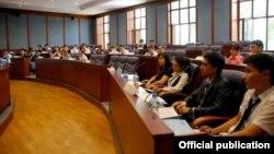 Узбекские студенты, архивное фото.